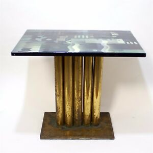 Enamel Cocktail Table by Edward Winter
