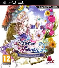 Atelier Totori: The Adventurer of Arland (Sony PlayStation 3, 2011) + BOOK + CD