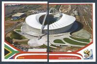 PANINI-SOUTH AFRICA 2010 WORLD CUP- #008-#009-DURBAN-DURBAN STADIUM