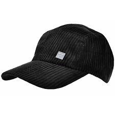 FILA Adulti Nero Cord CAP bntw REGOLABILE BRAND NEW Baseball HAT Golf Nwt