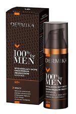 DERMIKA 100% For Men 40+ Anti-Ageing Smoothing Day/Night Cream 50ml Short S Life