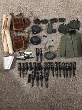 1/6 ITPT WWII GERMAN K98 Pouches Packs Bayonets Helmets AL Tunic Lot!
