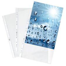 (0,09€/Stück) Prospekthüllen A4 premium - extra stark Durable 267619, 100er Pack