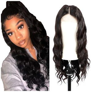 Lace Closure Wigs Human Hair Body Wave 4x4 Lace Closure Wigs Pre Plucked With