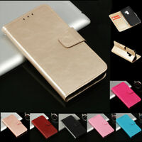 Luxury Magnetic Flip Cover Stand Wallet PU Leather Case For NOKIA Mobile Phones