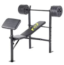 Weight Bench with 30kg Weights - Brand New In Box OPTI