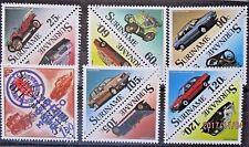 Suriname 1989 Cars Set. MNH.