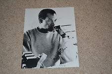JOE MORTON signed Autogramm 20x25 cm In Person TERMINATOR Schwarzenegger