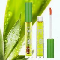 Aloe vera gel jelly moisturizing liquid lipstick lip not easy to fade gloss A6M7