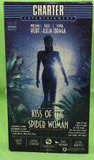 KISS OF THE SPIDER WOMAN VHS 1985 William Hurt Raul Julia Sonia Braga