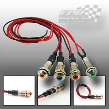 LED Bulb dash warning indicator panel electric light wire 12v custom race car