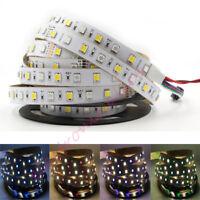 5m RGB CCT 300 led Strip Light Dual Color RGBW 5050 SMD adjustable string 24V