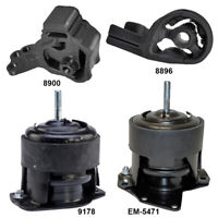 9178 Front Engine Motor 1Pc Mount for Acura CL 99-98 3.0L Honda Accord 95-97 2.7