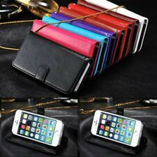NEW PU LEATHER WALLET STAND CASE COVER FOR SAMSUNG GALAXY PHONE A3 J5 S6 S6 Edge