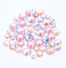 1440 Strasssteine GlitzerSteine Kristalle Glas Strass NailArt SS4-SS12 Pink