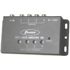 Power Acoustik VB1 Video Amplifier Power 1 Input/4 Outputs Signal Booster