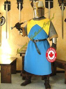 Medieval Knight Heraldry SCA Surcoat Tunic Tabard (T18)
