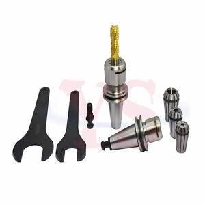 ISO10 ER16M Collet chuck holder ER16  Tool-Holder  20000rpm  +3pcs ER16 collet