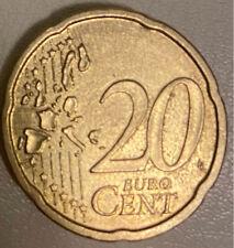 Euro coin. 20 Cent. 2007