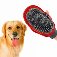 2In1 Pet Glove For Dog Cat Animal Comb Hair Remove Brush Grooming Massage Rake
