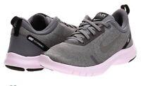 Nike Flex Experience Run 8 Shoe Women's Grey/Metallic Pewter/Gunsmoke Size 7