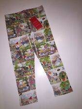 NWT 104 4 Jahre Oilily TISKA Gnome Jeansleggings Hose süsses Fairy Friend Story Jersey