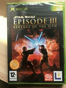 XBOX original Star Wars Episode III Revenge of the Sith - Brand New and Sealed