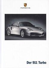 PORSCHE 911 996 TURBO Sportscar Sportwagen Prospekt Brochure Buch 2002 15