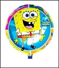 "18"" sponge bob foil helium round foil balloon birthday all occasions,party,kids"