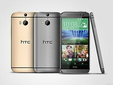 "Unlocked HTC One M8 Original 3G&4G WIFI GPS Quad-Core 5"" Dual 4MP 32GB Android"