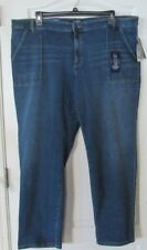 Chaps Slimming Fit Madden Straight-Leg Jeans Women's PLUS  Sz. 24W NWT MSRP$59