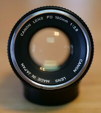 New listing Canon 100mm f/2.8 Fd-Mount Manual Focus Prime Lens *Mint*