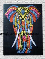 Bohemian Elephant Beach Tapestry Hippie Throw Yoga Mat Towel Blanket Indian Bed