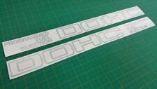 CRX 1G / Civic AG 1984 1987 full replacement side Decals Stickers DOHC 1.6i 16