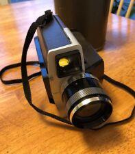 Vintage KODAK XL55 Super 8 MOVIE CAMERA  For Parts Only. Case Has No Strap