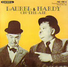 LAUREL & HARDY - On The Air (A COLLECTION OF RARE RECORDINGS 1932-1959 CD)