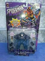 the amazing spider-man total armor rhino action figure