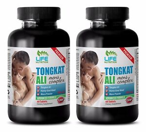 Organic Horny Goat Weed Powder - TONGKAT PLUS 760MG - Testosterone Pills 2B