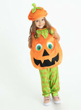 Halloween Petrifying Pumpkin Toddlers Fancy Dress Dressing up Costume H18