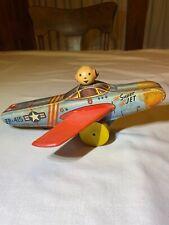 Vintage 1952 Fisher-Price Super Jet Litho Plane #415 VGC RARE  FREE SHIPPING 2 U