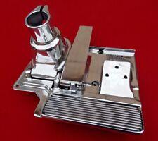 Peterbilt 362 polished throttle pedal base brake and lower column assembly