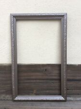 Medicine Cabinet Frame Surround 16-1/4 -26 1/4  Brown Pre Owned