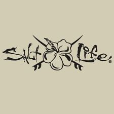 New Salt Life All Day Hibiscus Decal UV Rated Weatherproof Decal Sticker