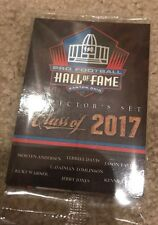 Nfl Panini Hall Of Fame Class of 2017 Draft Party Giveaway Football Cards Set