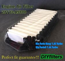 ENGINE AIR FILTER FOR 2014-2016 KIA FORTE KOUP 1.6L TURBO 2014-2017 FORTE5 1.6L