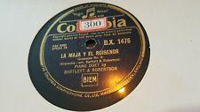 BARTLETT & ROBERTSON LA MAJA Y EL RUISENOR & ARENSKY WALTZ COLUMBIA DX1476