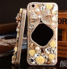 Glitter Luxury Bling Diamond Crystal Soft Back TPU Case Cover Skin For Samsung 3