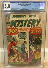 JOURNEY INTO MYSTERY #99 CGC 5.0 ORIGIN 1ST APPEARANCE OF MISTER HYDE & SURTUR