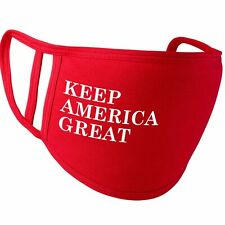 Keep America Great - Red Face Cover m*sk - Trump 2020 USA