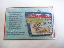 2013 Disney Cast Member Gift of 85th Anniversary Mickey & Minnie Ornament New!